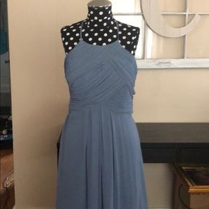 Bill Levkoff Slate Bridesmaid Dress Size 6!